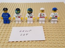 5 Lego Racers Minifigs Group 264 in Sandwich, Illinois