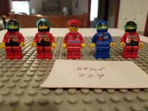 5 Lego Racers Minifigs Group 224 in Yorkville, Illinois