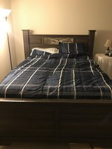 Queen size bed and mattress with boxspring in Fort Knox, Kentucky