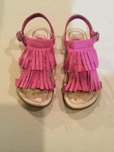 Pink fringe sandals...size 13 in Naperville, Illinois