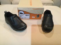 Merrell leather moc....boys size 11 in Aurora, Illinois