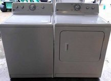 clean and reliable Maytag washer and dryer Toploader set in Fort Knox, Kentucky