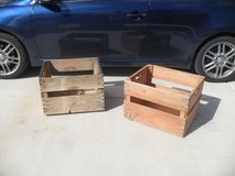 ===  2 x Wood Crates  === in Yucca Valley, California