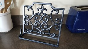 Black Castiron Recipe Cookbook Holder in St. Charles, Illinois