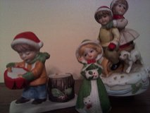 Christmas figurines in Fort Rucker, Alabama