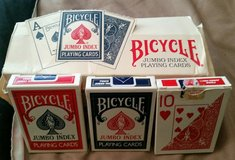 Box of Bicycle Playing Cards in Moody AFB, Georgia