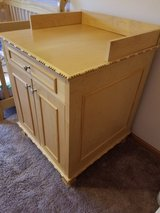 Walnut Changing Table in Elgin, Illinois
