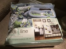 NEW !! Kids Line 6 Piece Crib Bedding Set, Mosaic Transport - $60 (Pelham) in Birmingham, Alabama