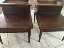 Two End Tables in Camp Lejeune, North Carolina