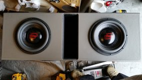 2-DD 9512 in a ported box (NEW subs) in Camp Lejeune, North Carolina
