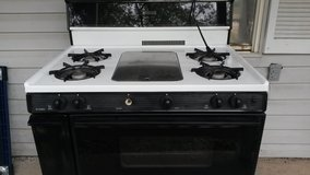 Gas stove in Lackland AFB, Texas