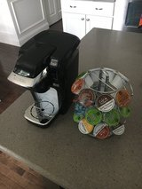 Keurig machine + carousel + 24 k cups in Chicago, Illinois
