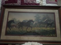 A Brand New Hope by Nancy Glazier Limited Edition  Lithograph Print of Horses in Alamogordo, New Mexico