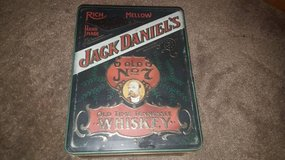 Vintage Jack Daniels Whiskey Poker Tin in San Clemente, California