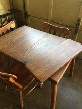 Square Vintage Table in Sandwich, Illinois
