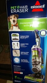 BRAND NEW Bissell Pet Hair Eraser Upright Vacuum, in Cary, North Carolina