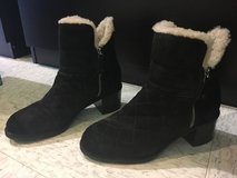 Authentic Chanel ankle boots size 37.5 7/7.5 us in Okinawa, Japan