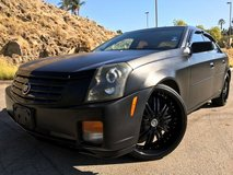 Cadillac CTS Murdered Out in Fort Irwin, California
