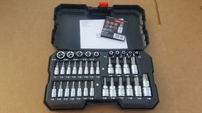 Brand New 35 pc POWERBUILT Torx Bit Socket Set. in Los Angeles, California