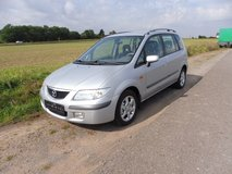 MAZDA PRIMASY! BEST PRICE! AUTOMATIC! MODEL 2001! NEW INSPECTION! CD RADIO! IN RAMSTEIN! 60,000 ... in Baumholder, GE
