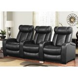 New Leather Reclining Home Theater Seating, 3-Piece in Todd County, Kentucky