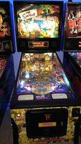 Simpsons, full size pinball machine in Spangdahlem, Germany