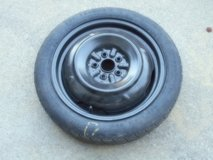 "TOYOTA Spare Tire DONUT - 5 Lug x 16"" Rim from COROLLA in Travis AFB, California"