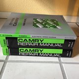 Camry Manuals (3) with notes from certified mechanic in Travis AFB, California