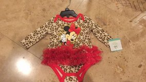 Disney Minnie Mouse outfit great for Halloween photo shoots sz 0-3 baby in Morris, Illinois