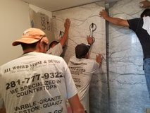 Remodelings, Granite, Showers in Spring, Texas