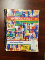 Speak Up Solano speech textbook in Travis AFB, California