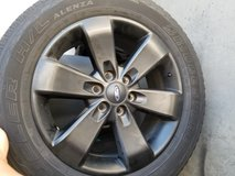2012 BLACK F150 RIMS AND TIRES in Fort Bragg, North Carolina