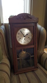 SALE!! REDUCED!  Antique German Wall (Grandmother's) Box Clock in Columbus, Georgia