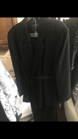 Black pantsuit in Fort Campbell, Kentucky