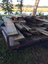 Used treated lumber - trailer full in Beaufort, South Carolina
