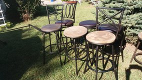 3 bar stools in Fort Riley, Kansas
