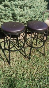 2 barstools w/scratches in Fort Riley, Kansas