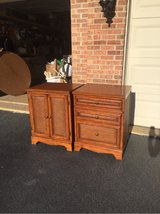 2 cabinets / nightstands in Naperville, Illinois