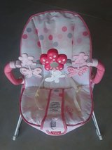 Like New Vibrating Bouncy Seat with Toy Bar in Springfield, Missouri