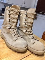 military boots in Fort Gordon, Georgia