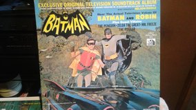 PRICE DROP!!! BATMAN and ROBIN vintage vinyl record! in Chicago, Illinois