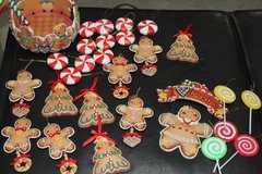 Gingerbread Christmas Ornaments in Lawton, Oklahoma