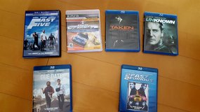 Blu-ray Lot of 6 Movies in Okinawa, Japan