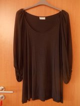 Black Blouse with sheer sleeves in Ramstein, Germany