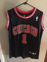Collectible Derrick Rose jersey in Bolingbrook, Illinois