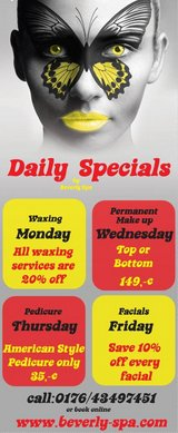 Daily special in Ramstein, Germany