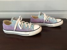 Converse All-Star Blue/Purple Ombre Shoes - Size W5 M4 in Naperville, Illinois