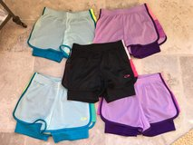 2 Pairs of Girls 2-in-1 Sport Shorts C9 Brand Size 10 in Glendale Heights, Illinois