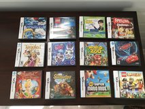 12 Nintendo DS Games; Boys, Girls and Educational in Aurora, Illinois