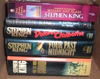 Lot of 5 Stephen King Books 4 Hard Cover 1 Soft 2 1st Edition in Morris, Illinois